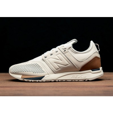 new balance 247 luxe bianche