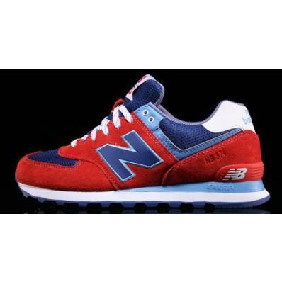 new balance 574 bianche rosse blu