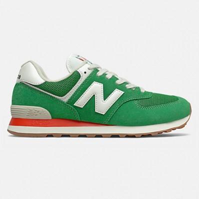 new balance 574 classic verde