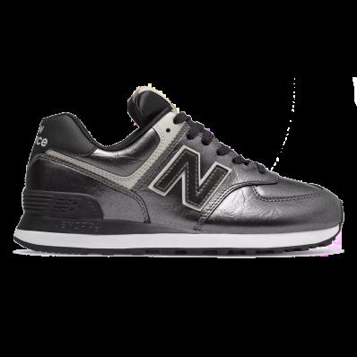 new balance 574 grigie e nere