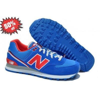 new balance 574 rosse e blu