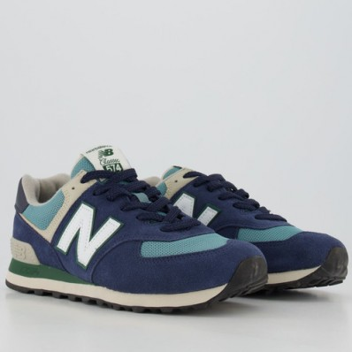new balance azul marinho e verde