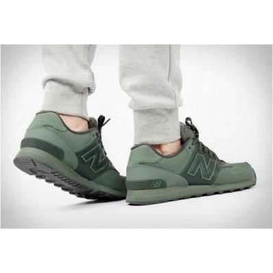new balance verde militar