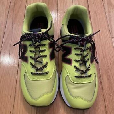 new balance verde y amarillo