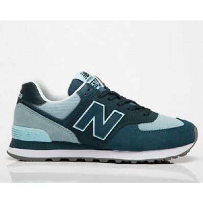new balance verde y azul