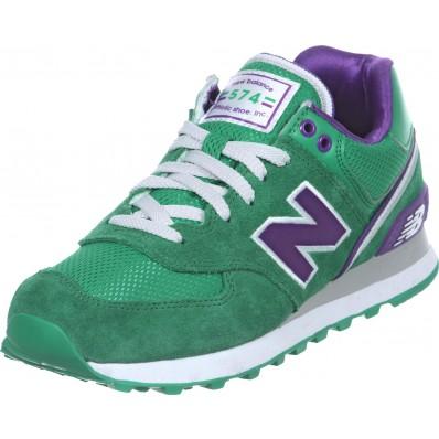 new balance verde y violeta