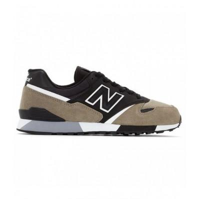 zapatillas new balance u446 sneakerhead negro verde gris